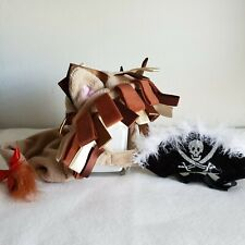 Small Cat or Dog Costume.  Pet Halloween Costumes.  Pirate and Lion