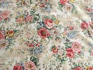 Ralph Lauren Brittany Full Queen Comforter Ruffle Shams Sateen Cotton Flawless