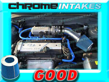 BLACK BLUE AIR INTAKE KIT FOR 01 02 03 04 05/2001-2005 HYUNDAI ACCENT WITH 1.6L