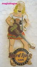 Hard Rock Cafe AMSTERDAM Pinaversary 2010 Girl Pin .