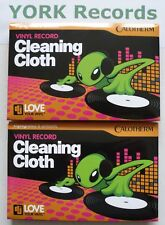 2 RECORD CLEANING CLOTHS - HIGH QUALITY - **FREE P&P**