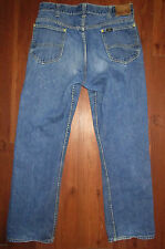Sanforized Lee Riders Jeans Selvage Mens Tag 34 Union USA Gripper Actual 33x29