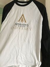 Assassins Creed Odyssey Raglan Shirt White Large (Official Promo)