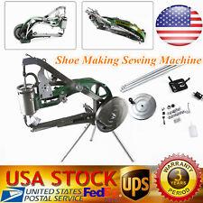 US Manual Industrial Shoe Making Sewing Machine Equipment Shoes Repairs Sewing