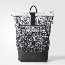 BRAND NEW Adidas $280  Perforated Energy Backpack Black/White/Rayred AY5076
