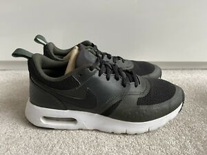 Nike Air Max Vision GS Trainers Black & Green - Size 5.5