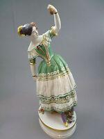 Große Figur  der Fanny Elssler  H.36,5 cm  Meissen TOP 1.Wahl Gewicht 3050 Gramm