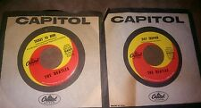 "BEATLES 45'S Original Capitol Records ""Ticket to Ride & ""Day Tripper"" Org Sleeve"
