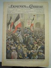 LA DOMENICA DEL CORRIERE MAR 1920- DANZICA - ASHBURNE ENGLAND - L-10/66