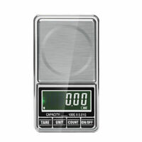 Mini Digital Waage Feinwaage Taschenwaage Goldwaage Juwelierwaage USB 100/1000g