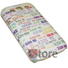 Cover Custodia Per Samsung Galaxy S3 Kiss Me Baciami + Pellicola Schermo LCD