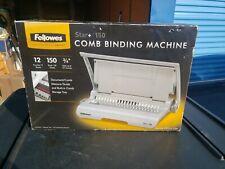 Fellowes 50065 Manual Comb Binding Machine