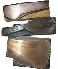 Copper Face Printing Block Plate Mandolin Banjo, Case PIDOUX BIRMINGHAM KING LUX