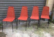 Basket Chairs Legler Bonacina Style 1960 Lot of 4