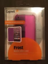 Cygnett Frost Matte Slim Case for iPhone 3G/3GS with screen protector Pink