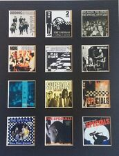 "The Specials LP Discography Mounted Picture 14"" by 11"" Free Postage"