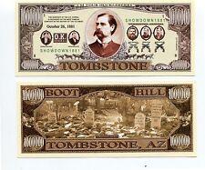 Boot Hill  Tombstone    MILLION   DOLLAR  BILL