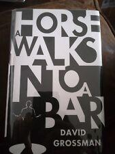 David Grossman A Horse Walk Into A Bar SIGNED 1ST/1ST Man Booker International