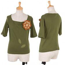 Jocomomola Flower Patch T-Shirt Size 40(K-46839)