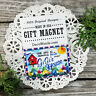 GiGi Fridge MAGNET * Family Grandparent Cute Little Gift USA New DecoWords Gi Gi