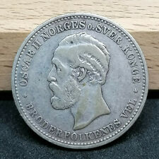 Norway silver coin 2 kroner 1904
