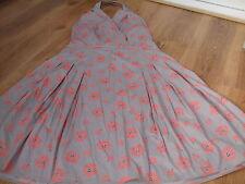 Boden Cotton Sleeveless Women's Halter Neck Dresses
