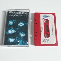 EUROPE OUT OF THIS WORLD CASSETTE TAPE 1988 PAPER LABEL EPIC CBS UK
