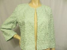 NWT New ANN TAYLOR LOFT  Sweater Open Front  Lace 3/4 Sleeve  Size M