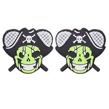 Pirate Tennis Racket Shock Absorber 2-Pack by Racket Expressions