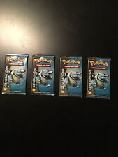 Pokemon Generations Booster Packs X4 Blastoise Artwork UNWEIGHED AUTHENTIC