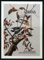 Ghana MiNr. Block 119 postfrisch MNH Vögel (Vög1320