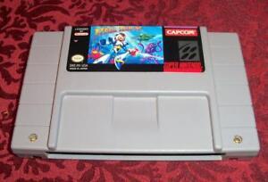 MEGA MAN X Original Super Nintendo SNES Game Tested 1993 Capcom Japan