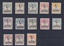ESPAÑA 1920 Congreso UPU Ed 297/309 Con fijasellos MH Cat. 600 €