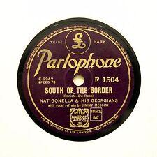 "Nat Gonella georgiani ""A SUD DEL CONFINE"" (e +) PARLOPHONE F-1504 78 RPM []"
