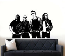 I Metallica Rock Band Wall Art Decalcomania Adesivo Vinile