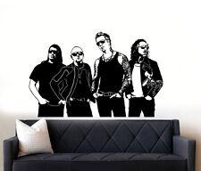 I Metallica Rock Band Wall Art Decalcomania Adesivo Vinile