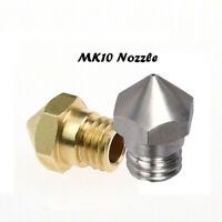 MK10 Extruder Nozzle for Makerbot 2 CTC Dremel Wanhao i3 Flashforge 3D Printer
