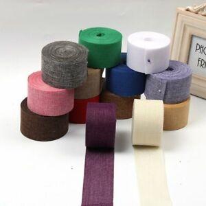 Ribbon Gift Wrapping Jute Burlap DIY Crafts Festival Decor Party Wedding Decor