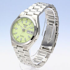 Seiko Automatic 21 Jewels Lime Dial Men's Watch SNKG25J1