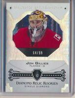 2017-18 Black Diamond Diamond Relic Rookies Jon Gillies /99 Calgary Flames