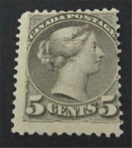 nystamps Canada Stamp # 42 Mint OG H $275   L23y2640