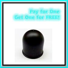 2x 50 mm de remolque de bola de cubierta de plástico negro enganche de remolque Bar PAC ➲ remolque para Coche Caravana