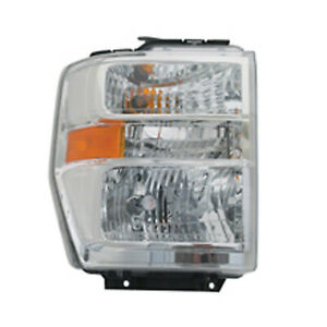 Right Side Headlight Assembly for 2015- Ford Van E350 Super Duty 114-01134R CAPA