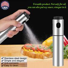 BBQ Cooking Olive Oil Spraying Bottle Dispenser Sprayer Can Jar Kitchen Barbecue