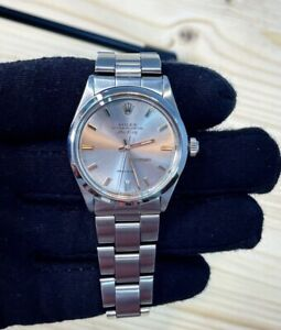 Rolex Datejust Air King Referenza 5500 Anno 1965  Con Movimento Eta