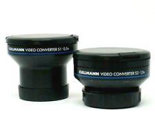Cullmann 55 mm Weitwinkel &Tele Objektiv Set für Sony Canon Nikon Panasonic v.FH