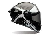 Bell Race Star ECE Carbon Helmet - Tracer Gloss Black/White