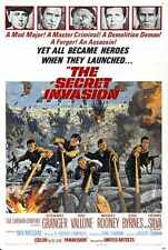 Secret INVASION Poster 01 métal signe A4 12x8 aluminium