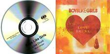 BOYS LIKE GIRLS - Love Drunk - Album Sampler - (4 Track Promo CD)
