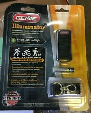 Genie Illuminator 2-Button Remote with LED Flashlight and Lanyard